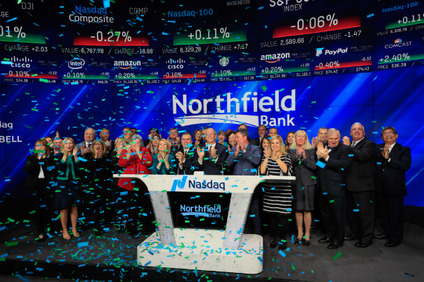 Northfield Bank NASDAQ Closing Bell
