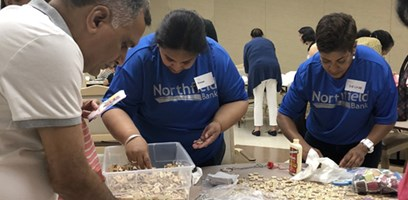 On August 23rd, Northfield Bank partnered with Jersey Cares, a local 501(c)3 organization to visit the Piscataway Senior Center.