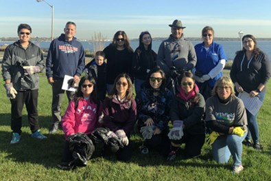 Northfield Bank Beach Clean Sweep